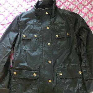 Army green J.Crew jacket